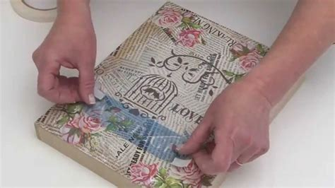 8 helpful hints for decorative decoupage