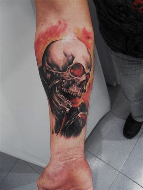 ghost rider tattoo by tattooastur on deviantart