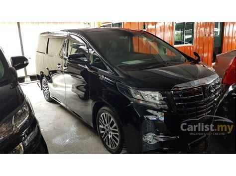 2015 Toyota Alphard 2 5 G At toyota alphard 2015 g s c package 2 5 in kuala lumpur