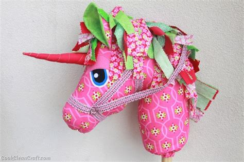 unicorn pattern to sew woooie hobby horse unicorn cook clean craft