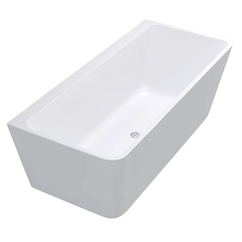 58 Bathtub Home Depot by Anzzi Strait 5 58 Ft Acrylic Flatbottom Non Whirlpool