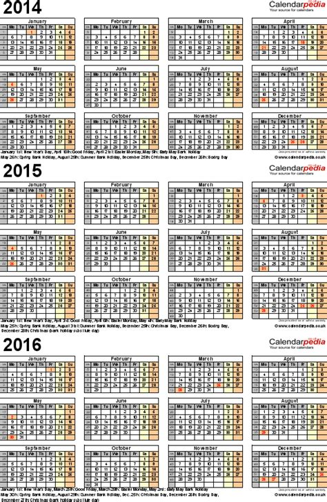 printable monthly calendars for 2014 and 2015 image gallery calendar for 2014 2015 2016