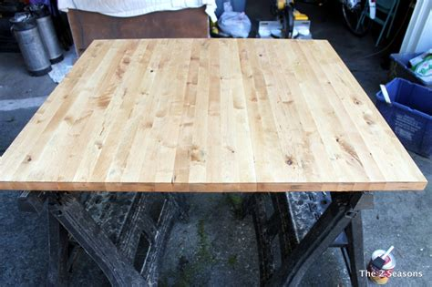 staining dining room table staining a dining room table