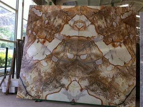 Rock Kitchen Backsplash natural stone source bookmatched and butterflied