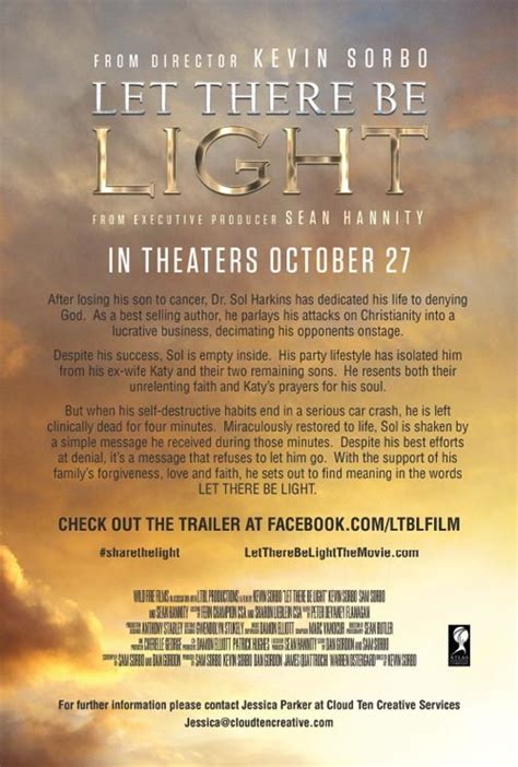 the movie let there be light faith shares let there be light