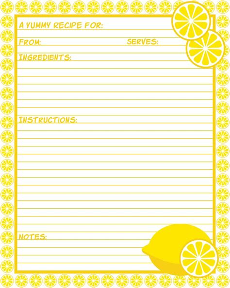 printable lemon recipes don t eat the paste lemon cups recipe with printable