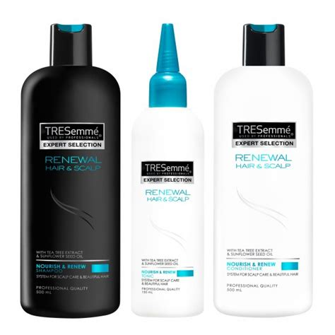 Shoo Tresemme Scalp Care luxury hair care and home