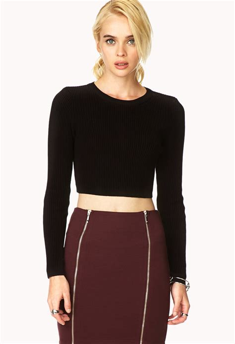 cropped sweater forever 21 classic cropped sweater where to buy how to