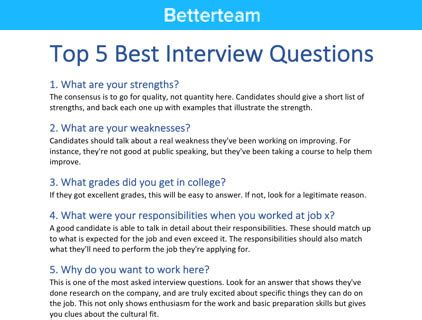 project management interview questions interview structure