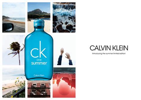 This One Summer ck one summer 2018 calvin klein perfume a new fragrance