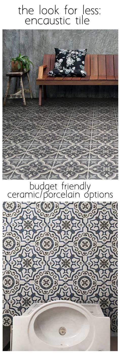 Cement Look Tile for Less   Centsational Girl