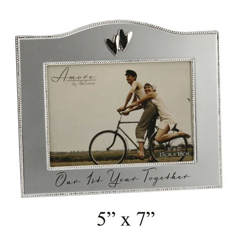 Wedding Anniversary Frames by Anniversary Gift 1st Anniversary Photo Frame