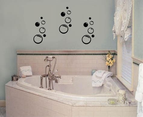 bathroom wall art stickers bathroom wall decals stickers design idea and