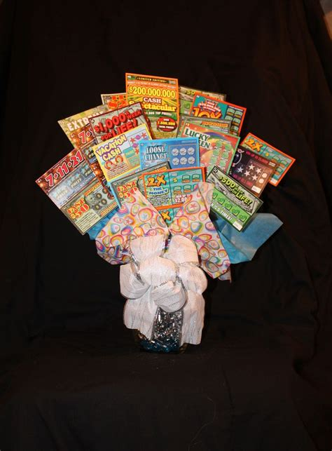 themes of lottery rose lottery bouquet vase full of lottery tickets lottery