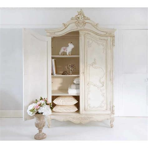white shabby chic wardrobe white wood wardrobe armoire shabby chic bedroom