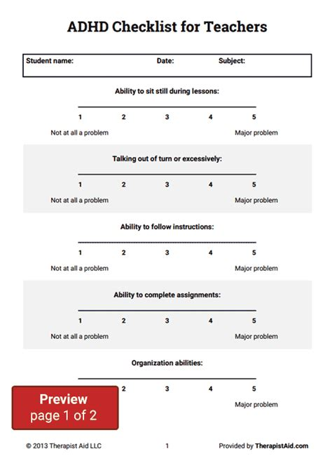 printable add questionnaire for adults all worksheets 187 adhd cbt worksheets printable
