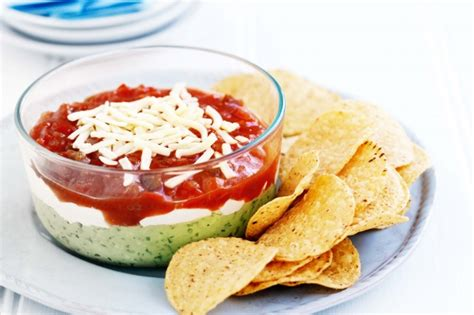 christmas layer dip recipe taste com au