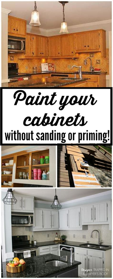 paint kitchen cabinets without sanding how to paint kitchen cabinets without sanding or priming