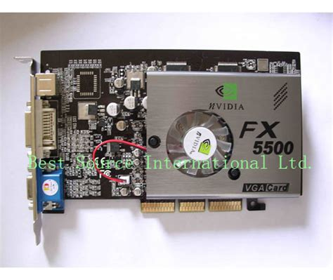 Vga Fx 5500 Gf Fx5500 Agp Vga Card China Display Computer