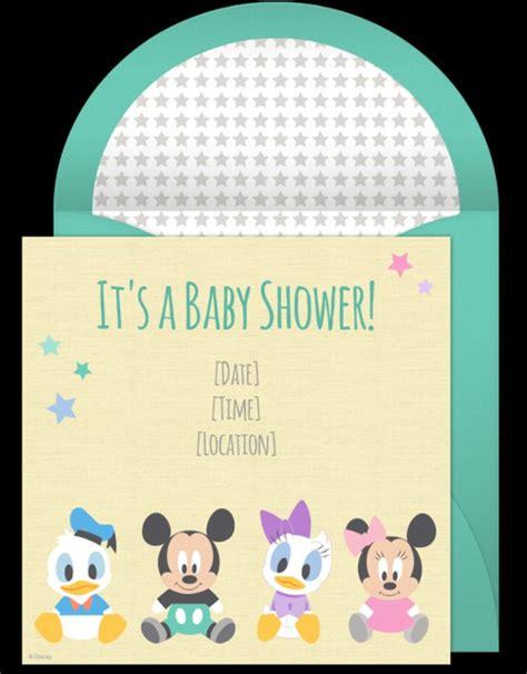 disney baby shower invitation sle invitations online