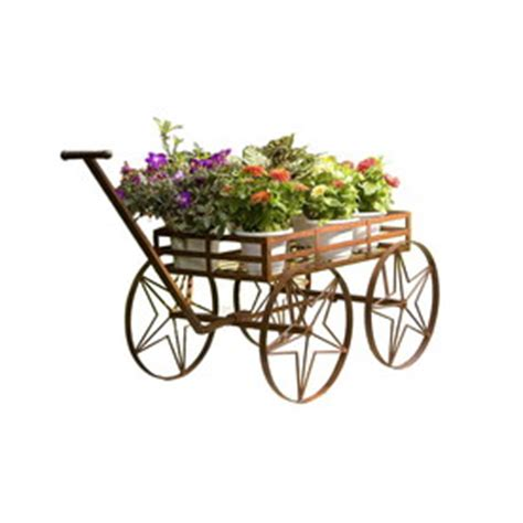 Garden Wagon Lowes by Shop Garden Treasures Large Garden Wagon At Lowes