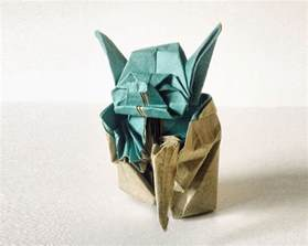 Origami Yoda Fumiaki Kawahata - the most beautiful exles of origami paper