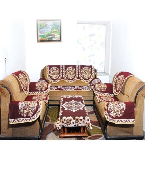 latest sofa cover design fabnation designer combo 16 sofa covers table cover