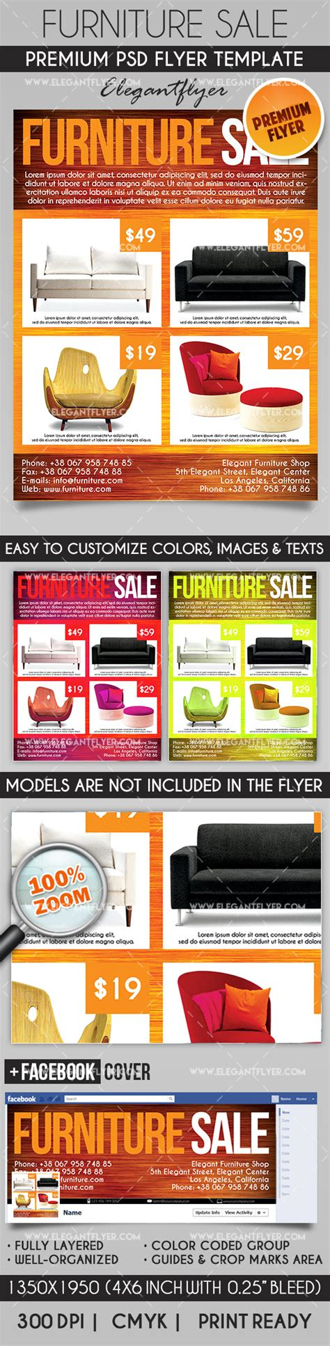 Furniture Flyer Template Free