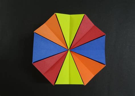 origami toys tutorial how to fold origami magic circle