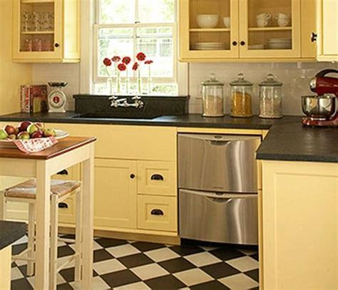 Best Cabinet Color For Small Kitchen | kitchen color ideas for small kitchens home design
