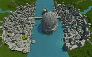 Lake House Blueprints Osgiliath Ancient Capital Of Gondor Minecraft Project