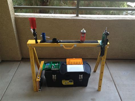 portable reloading bench pin by david mortlock on zombie survival gear pinterest