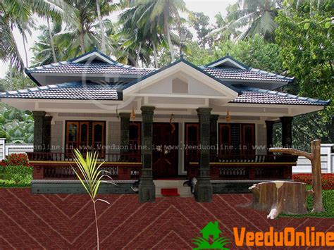 Kerala House Plans Single Floor by K V Muraleedharan Archives Veeduonline