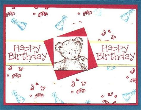 Happy Birthday Papercraft - 41 best favourite teddy images on teddy