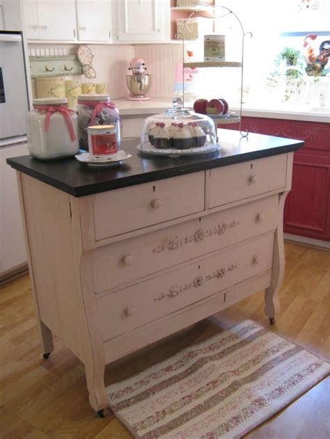 dresser kitchen island dresser made into a kitchen island kitchens pinterest