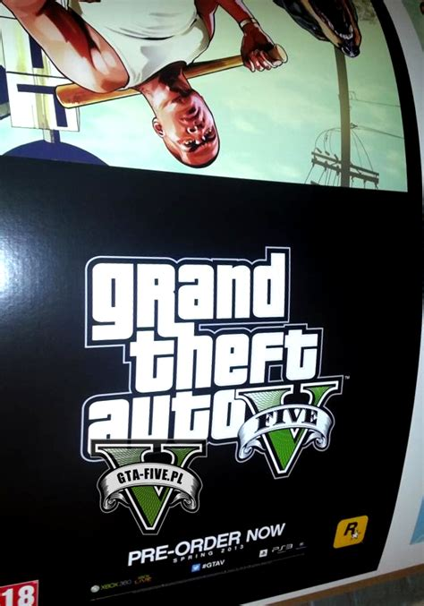 leaked gta  promotional poster confirms spring