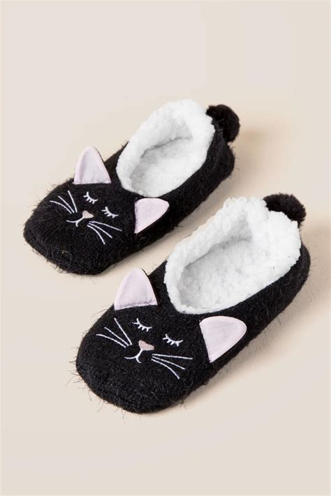 cat slippers for adults cat cozy warmer slippers s