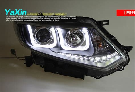 Lu Projector Nissan X Trail high quality dual u q5 lens led headlight for nissan x