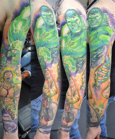 transforming incredible hulk sleeve marvel by alan aldred