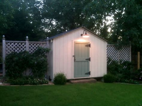 It Sheds Light by Gooseneck Barn Light Adds Delightful Farm Touch To Garden