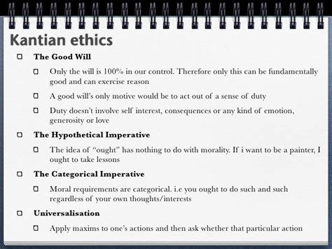 Kantian Ethics Essay by Kantian Ethics Is The Best Approach To The Issues Surrounding Business Ethics Essay