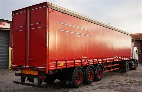 side curtain trailer 20 40 45ft tautliner curtain side trailer for sale by