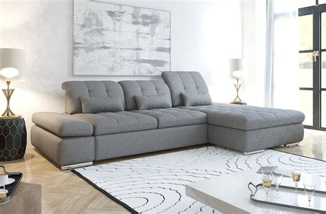 big sofa weiß sofa modern grau wohndesign