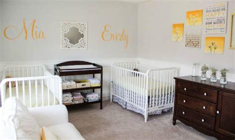 decoracion habitacion bebes mellizos seis habitaciones de beb 233 s gemelos decoraci 211 n beb 201 s