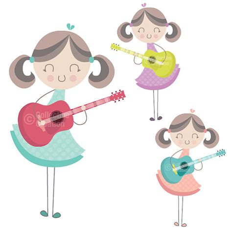 girl playing guitar clip art girl playing guitar clipart clipart suggest