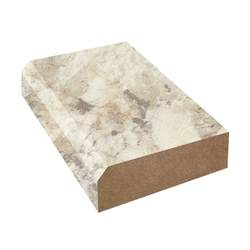 bevel edge laminate countertop trim crema mascarello 3422