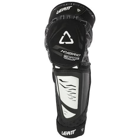 Leatt 3df Hybrid Knee Guard Black Yellow leatt youth 3df hybrid ext knee and shin guards revzilla