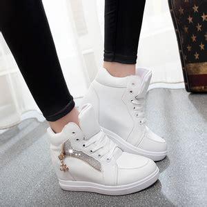 Sepatu Boot Wanita Hitam Putih Evlove Sepatu Wanita sepatu sandal wanita ryn fashion