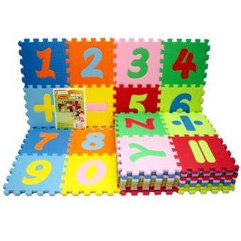 Evamat Alphabet by Evamat Puzzle Matras Alphabet Angka Simbol Tikar Anak
