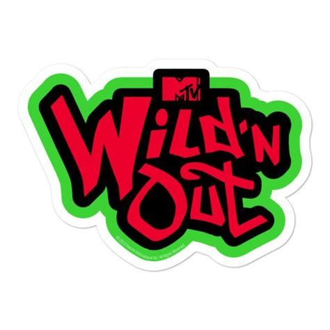 wild   die cut stickers official mtv shop